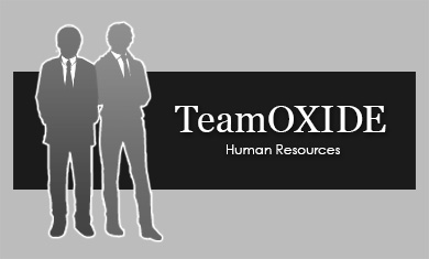 Team oxide, humen resources