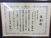 グローバルニッチトップ企業100選-表賞状