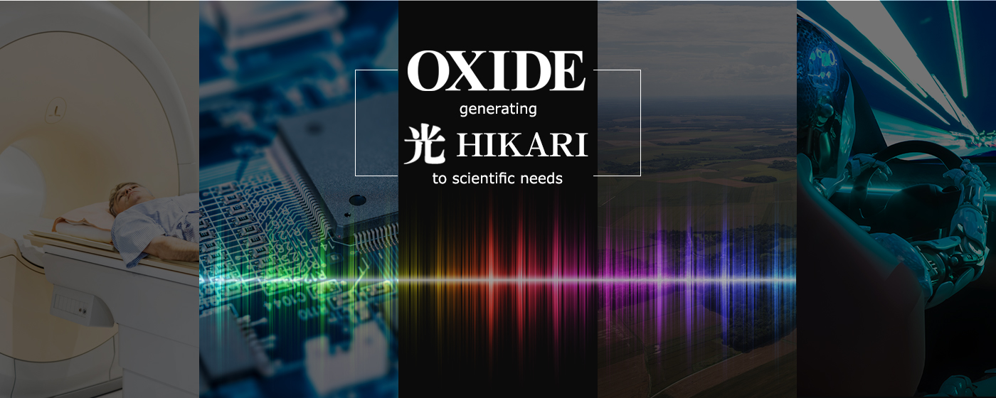 OXIDE generating HIKARI to scientific needs